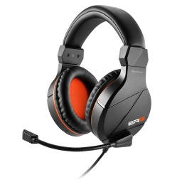 AURICULARES GAMER SHARKOON RUSH ER3 GAMER PC NEGRO