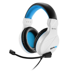 AURICULARES GAMER SHARKOON RUSH ER3 GAMER PC BLANCO