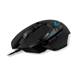 MOUSE GAMER LOGITECH G502 RGB 16000DPI HERO USB