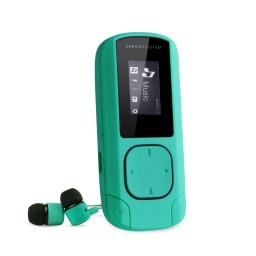 REPRODUCTOR MP3 ENERGY SISTEM CLIP 8GB VERDE