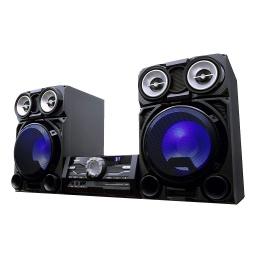 MINI COMPONENTE TOSHIBA TY-ASW8000 800W RMS BLUETOOTH FM MP3 CD SD