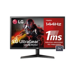 Monitor Gamer LG 24 144Hz 24gl600fb Full Hd Panel TN Radeon FreeSync Respuesta 1Ms Antireflejo Hdmi y DisplayPort