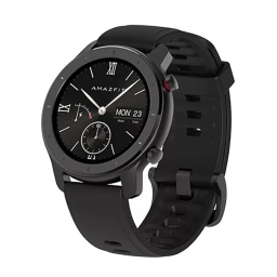 RELOJ SMART WATCH XIAOMI HUAMI AMAZFIT GTR 42MM GPS BT NEGRO