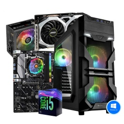 SUPER GAMER PC INTEL CORE I5 9400F 8GB SSD 480GB GTX 1660 6GB SUPER WIFI