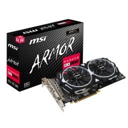 Tarjeta De Video MSI Amd Radeon Rx 580 Armor 8Gb Gddr5 Oc Hdmi DisplayPort Dvi