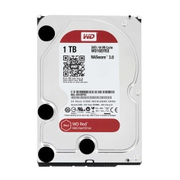 "DISCO DURO WD 1TB RED 3.5"" SATA3 6.0GBPS INTELLIPOWER RPM"
