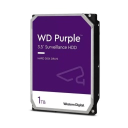DISCO DURO WD 1TB PURPLE 3.5 SATA3 6.0GBPS DVR INTELLIPOWER RPM