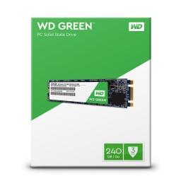 SOLIDO SSD M.2 240GB WD 2280 GREEN PARA PC O NOTEBOOK