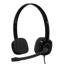 AURICULARES LOGITECH H151 STEREO CON MICROFONO 3.5MM