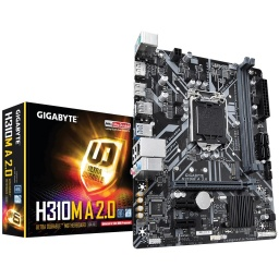 MOTHERBOARD GIGABYTE H310M-A 2.0 ULTRA DURABLE 1151 RGB