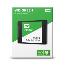 SSD SOLIDO 240GB WD GREEN 2.5 SATA3 6.0GBPS PARA PC Y NOTEBOOKS