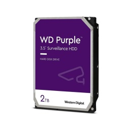 "DISCO DURO WD 2TB PURPLE 3.5"" SATA3 6.0GBPS DVR"
