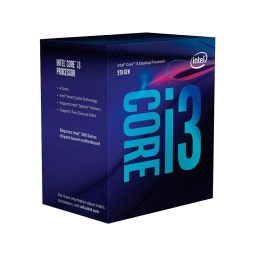 PROCESADOR CPU INTEL CORE I3 9100F QUAD CORE 3.6 A 4.2GHZ