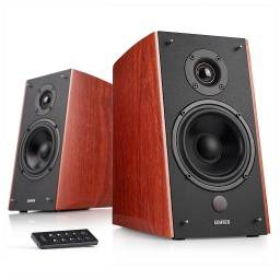 PARLANTES EDIFIER R2000DB 2.0 120W RMS CONTROL REMOTO MADERA