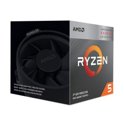 PROCESADOR CPU AMD RYZEN 5 3400G QUAD CORE 3.7 A 4.2GHZ AM4
