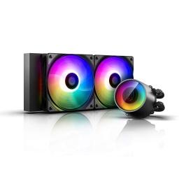 REF LIQUIDA CPU DEEPCOOL CASTLE 240 V2 RGB INTEL AMD