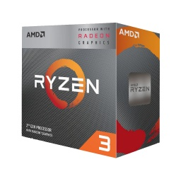 PROCESADOR CPU AMD RYZEN 3 3200G QUAD CORE 3.6 A 4.0GHZ AM4
