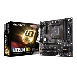 MOTHERBOARD GIGABYTE AB350M-D3H 1.0 ULTRA DURABLE AM4