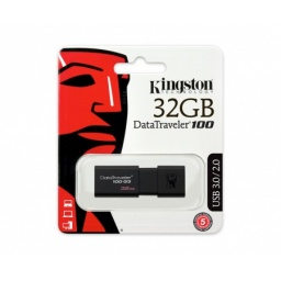 PENDRIVE KINGSTON 32 GB 3,0 DT100G3