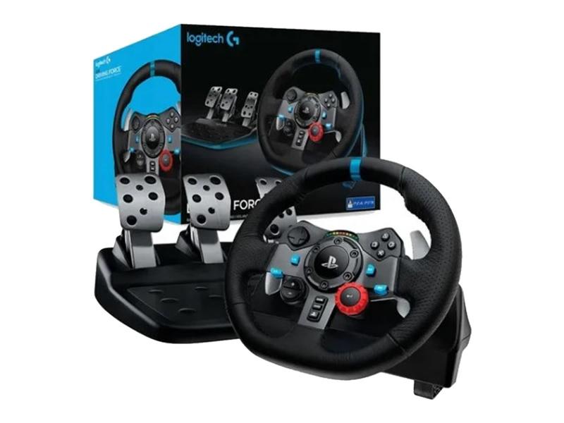 VOLANTE LOGITECH G29 CON PEDALERA PARA PC PS3 PS4