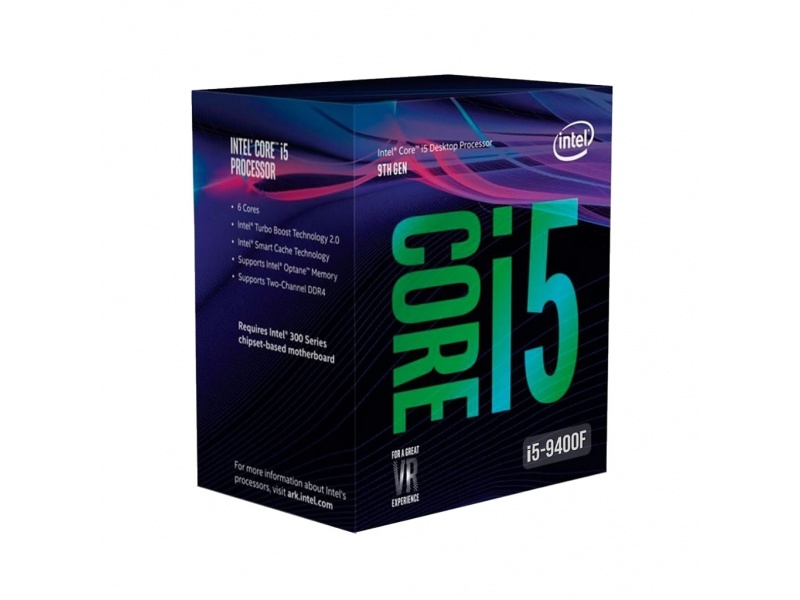 PROCESADOR CPU INTEL CORE I5 9400F SIX CORE 2.9 A 4.1GHZ