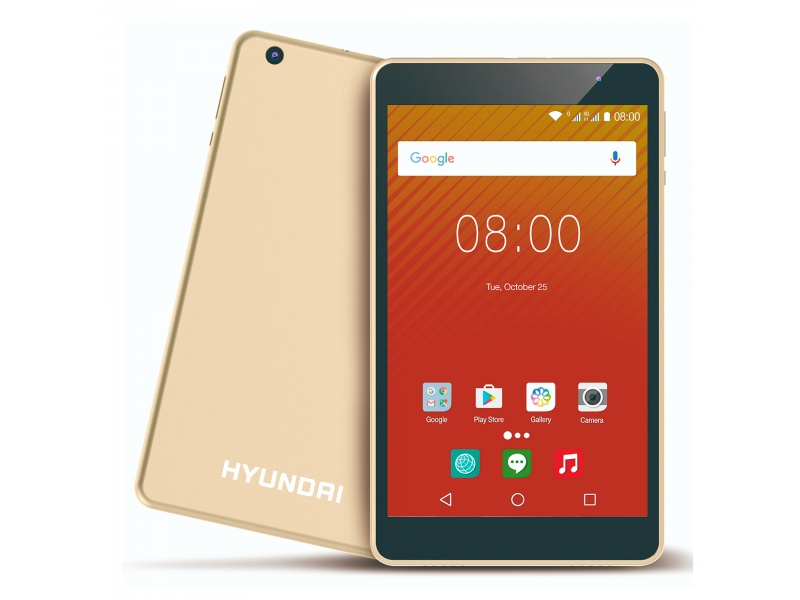 TABLET HYUNDAI KORAL 8W2 QUAD CORE 1.5GHZ 2GB 16GB LED IPS 8 ANDROID 9
